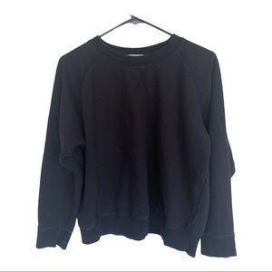 Richer Poorer Black Pullover Crewneck Sweatshirt M